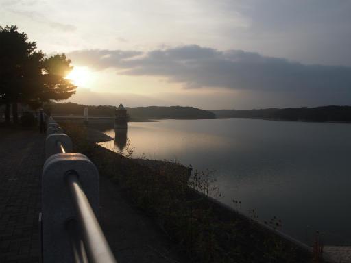 20141012・狭山湖夕焼け2