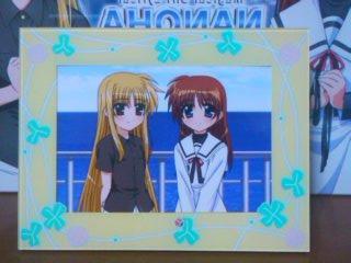 11月27日 なのはMOVIE 1st BD アニメイト特装版 フォトスタンド