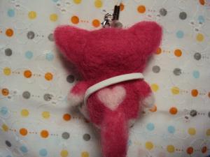 ピンクねこバック