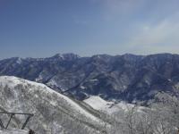 スキー晴れた