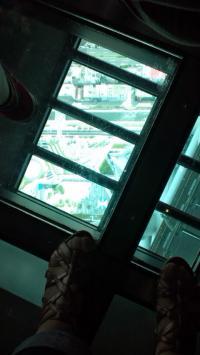 スカイツリーガラス床