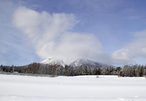 雪岩木山-3