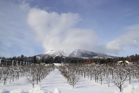 雪岩木山-1
