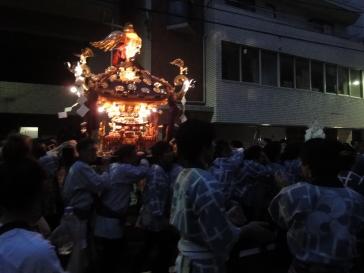 三社祭(夕方)