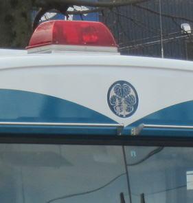 機動隊のバス
