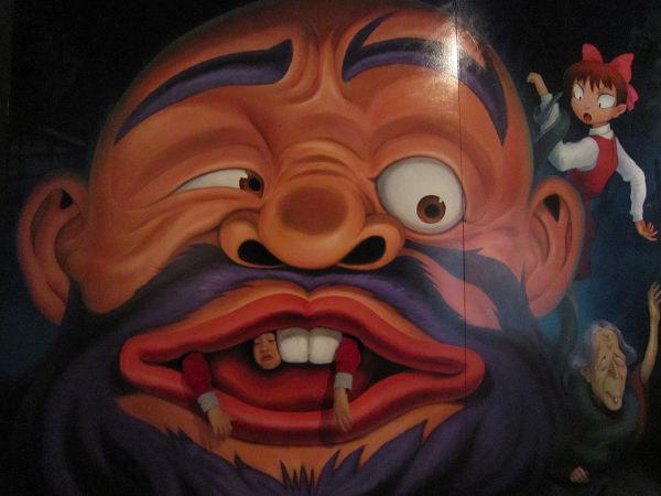 131231ーゲゲゲの鬼太郎トリックアート10