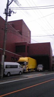 てるブロ-福生市民会館 搬入口