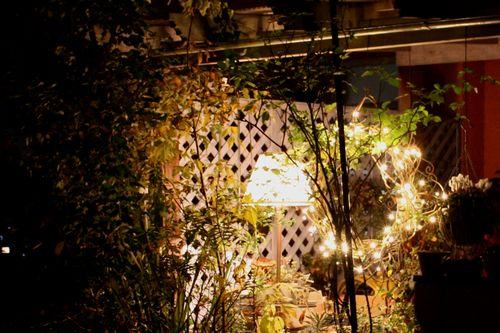 T's Garden Healing Flowers‐2010リース点灯