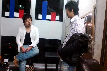 日之内店長&前田L