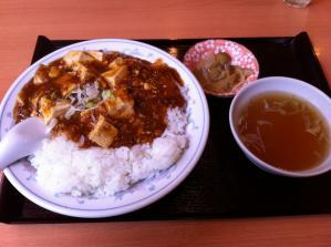 香港楼 麻婆豆腐丼