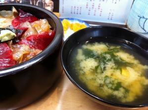 鮨 大芳 味噌汁