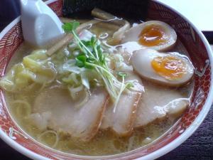 麺屋○文 丸文ラーメン