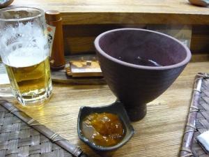 ふきのとう ビールと焼酎