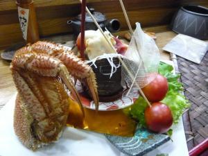 ふきのとう 毛蟹と北寄貝