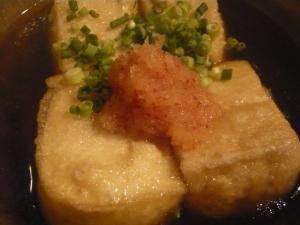 つきや 揚げ出し豆腐