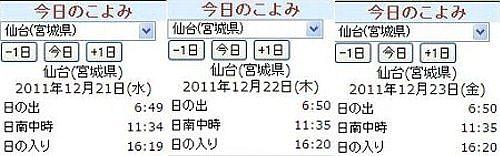 12/12/22 冬至