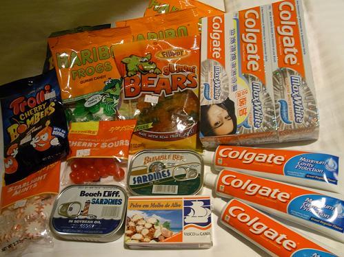 どこの国のお菓子?もたくさん