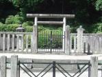 昌子内親王陵(石坐神社西側)2