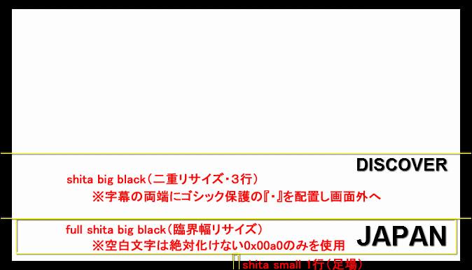 DISCOVER JAPAN(shitaコメ)
