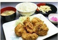 串鳥ザンギ定食