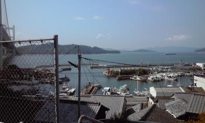 田之浦の港