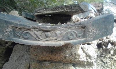 木鳥神社の瓦