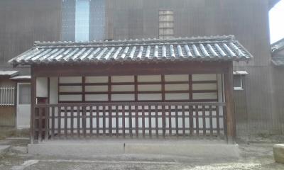 木鳥神社制札場