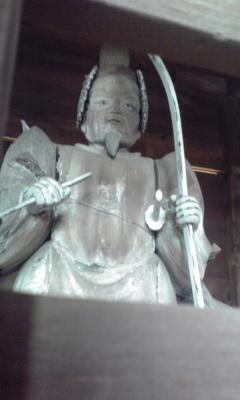 随身門の像2