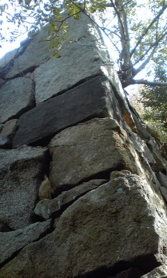 西二の丸角石垣