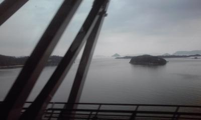 橋から松島釜島