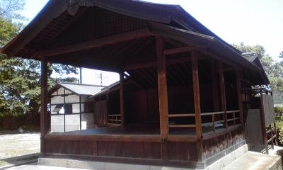 鞆沼名前神社能舞台