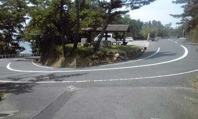 岡山最南端のヘアピン