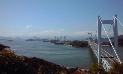 鷲羽山から瀬戸大橋1