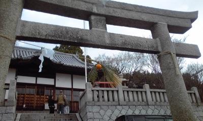 田土浦坐神社新春