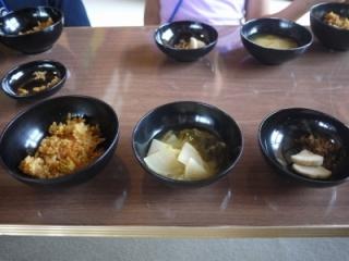 寺子屋体験2日目 昼食