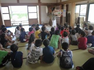 寺子屋体験2日目 お楽しみ会 英語で遊ぼう