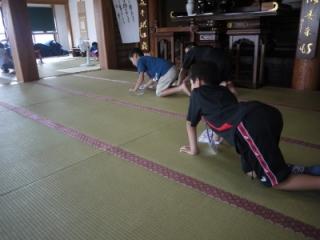 寺子屋体験2日目 掃除