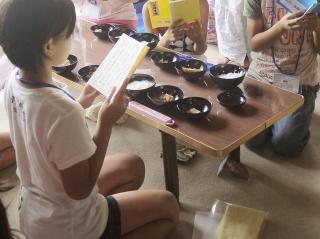 寺子屋体験 3日目 昼食1