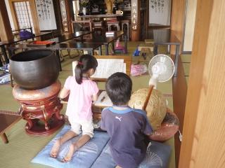 寺子屋体験 3日目 昼食2