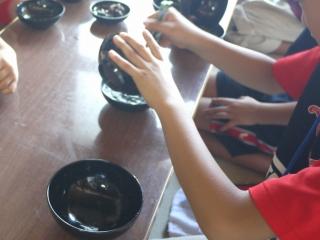 寺子屋体験5日目 洗鉢