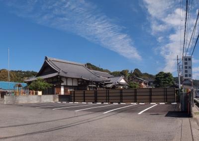 駐車場から東光寺