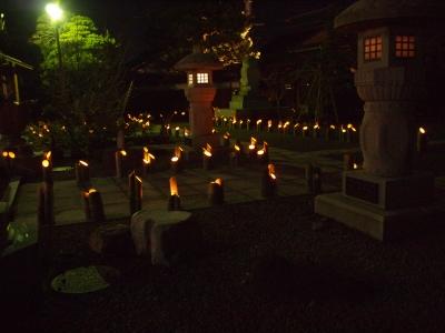 竹ロウソク1212316