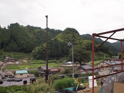 慈雲寺から見た風景