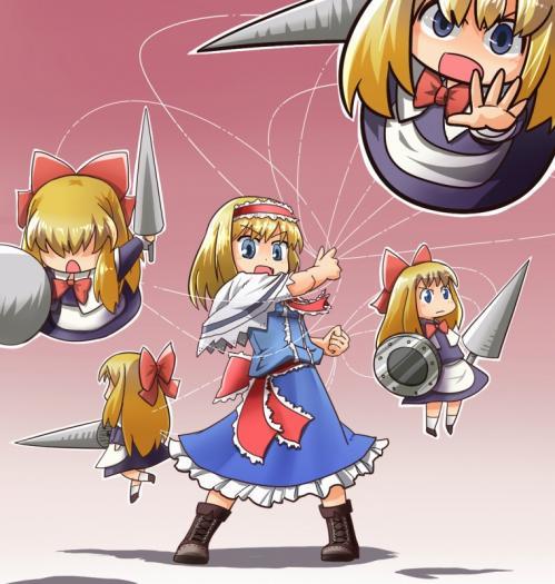 アリス・戦闘態勢