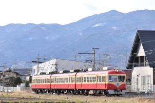 長野電鉄2000系 臨時 屋代線入線