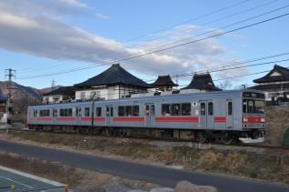2011年1月3日 上田電鉄別所線 寺下~神畑 1000系1001F