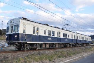 2011年1月3日 上田電鉄別所線 神畑~寺下 7200系7253F