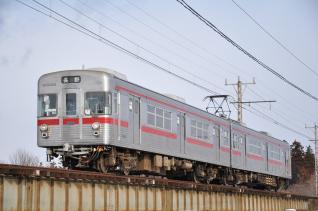 2011年1月28日 長野電鉄長野線 3500系N5編成