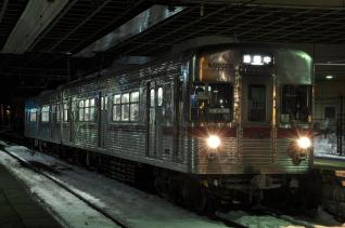 2011年1月28日 長野電鉄長野線 3500系N7編成