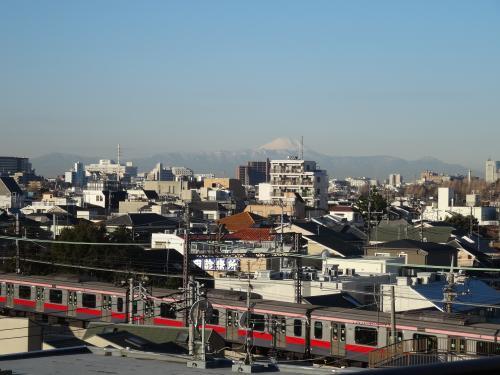 東京からの富士山